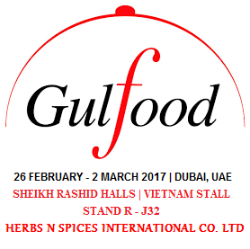 Herbs N Spices International Co. Ltd at Gulfood...